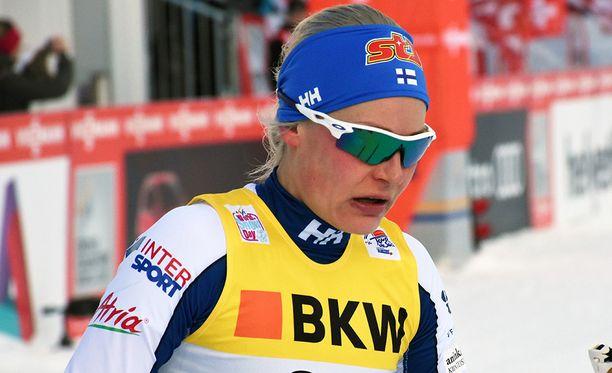 Anne Kyllönen on kaukana huippukunnosta.