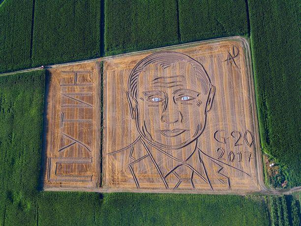 Putinin naama italialaispellossa.