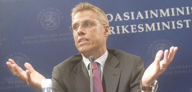 - Jos ottelua ei löydy, pannaan sellainen pystyyn, ulkoministeri Alexander Stubb vakuutti heinäkuussa.