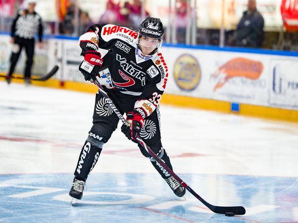 Julius Nättinen laukoi ottelun voittomaalin jatkoajalla.