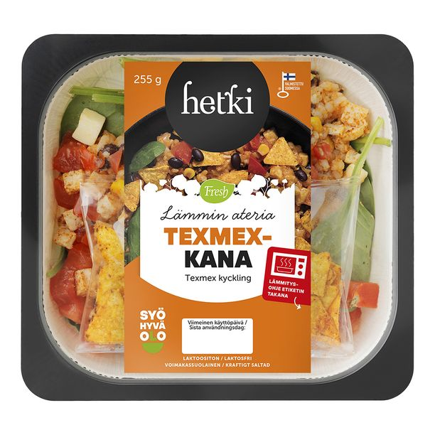 Kaikki Hetki Lämmin ateria -sarjan tuotteet pakataan uusiin, mikrolämmityksen kestäviin ja helposti kierrätettäviin kartonkirasioihin.