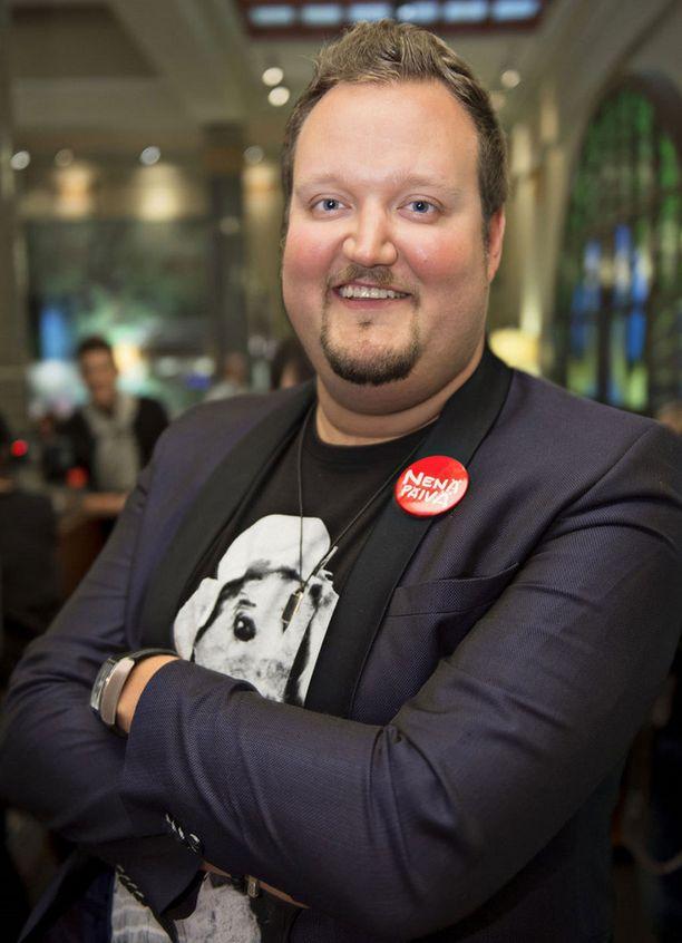 Tältä Sami Hedberg näytti syyskuussa 2014.