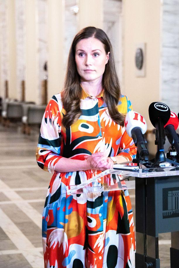 Sanna Marin kuvattuna joulukuussa 2019.