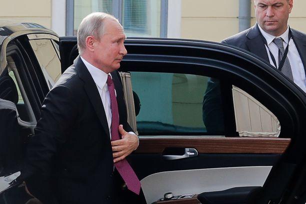 Venäjän presidentti Vladimir Putin on parhaillaan vierailulla Helsingissä.