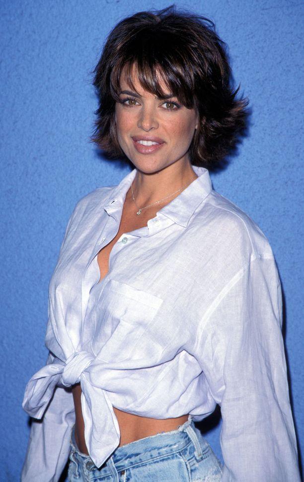 Lisa Rinna vuonna 1996, Melrose Placen huippusuosion aikoihin.