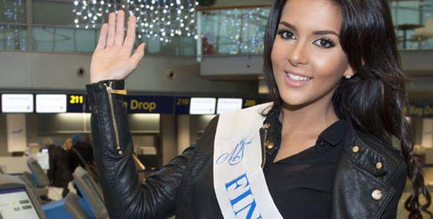 Sara Chafak matkasi sunnuntaina Las Vegasiin.
