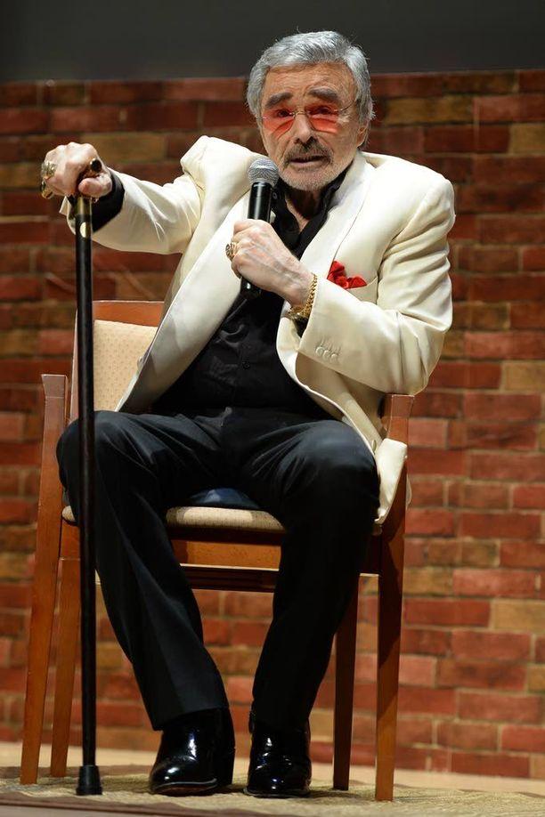 Burt Reynolds 80-vuotiaana...