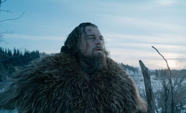 Leonardo DiCapriolle on povattu Oscar-patsasta roolityöstään.