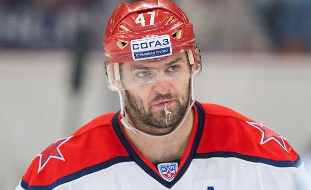 ZSKA-tähti Aleksandr Radulov on KHL:n pistepörssissä neljäntenä.