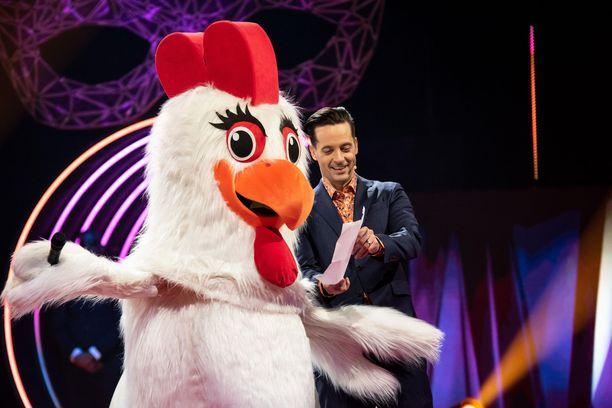 Kana paljastaa Masked Singerissä haaveilleensa siitä, että hän saa lausua julkisesti runon.