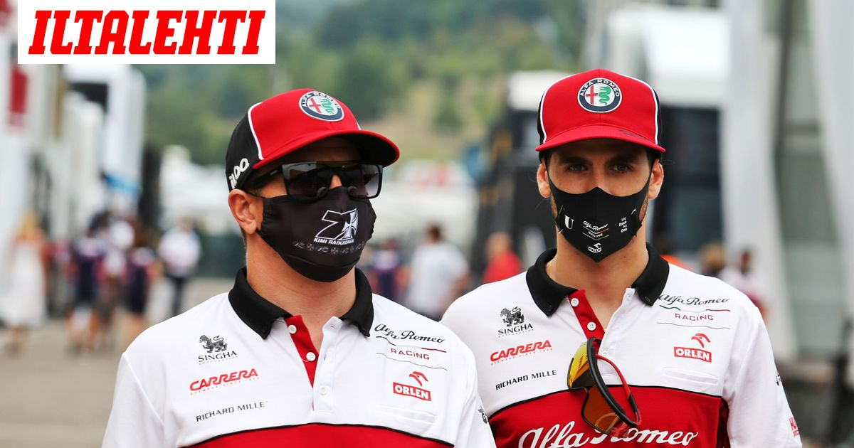 Kimi Räikkönen hauskuutti jälleen  sai tallikaverinsa nauramaan...