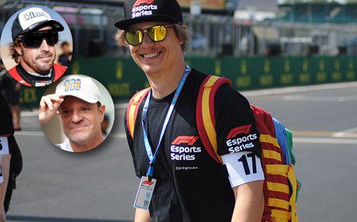 """Suomalaiskuski pääsi samaan tiimiin Fernando Alonson kanssa – vaikuttui F1-legendoista: """"Nöyrä ja kova"""""""