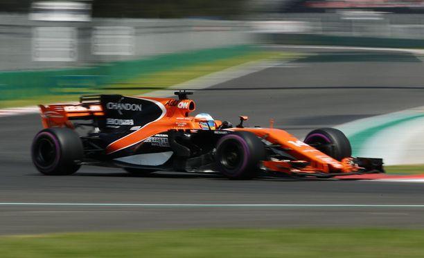 Fernando Alonson lähtösijoitus tippui taas kerran.