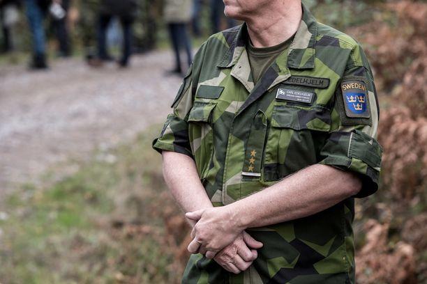 Mahdollinen jäsenyys puolustusliitto Natossa puhuttaa Ruotsissa. Kuvituskuva Ruotsin puolustusvoimien vuoden 2017 Aurora 17 -harjoituksesta.