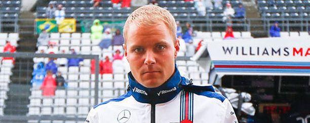Valtteri Bottas pettyi Williamsin vauhtiin.