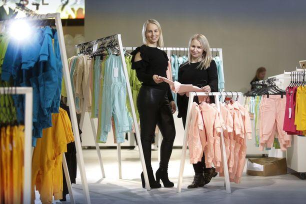 Miia Riekki ja Anne Valli ovat siskoksia ja yhtiökumppaneita.