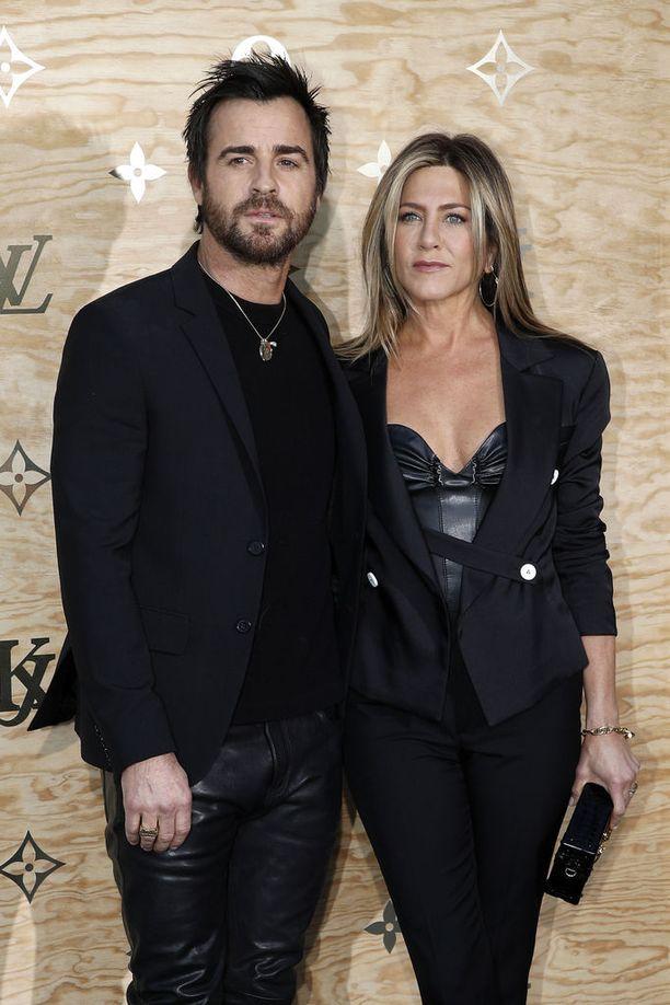 Aniston ja Justin Theroux tiedottivat avioerostaan helmikuussa.