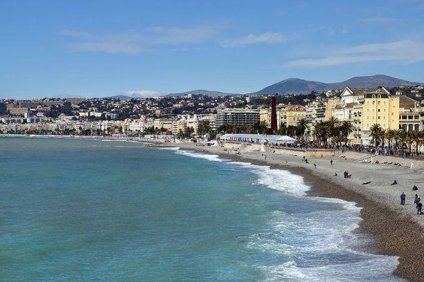 ...yhtä lailla kuin Ranskan Nizzassa.