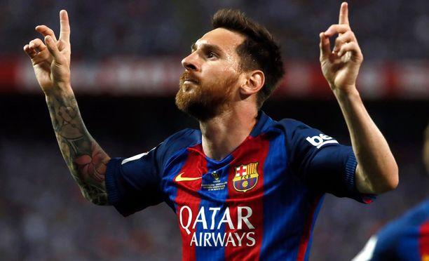 Lionel Messin nykyinen sopimus olisi päättynyt kesällä 2018.