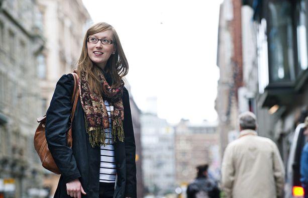 Eveliina Heinäluoma on ammatiltaan viestinnän asiantuntija.