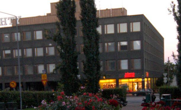 Helsingin Vallilassa sijaitsevassa vastaanottokeskuksessa tapeltiin lauantaina aamuyöstä. Molemmat kuumakallet vietiin putkaan. Arkistokuva.