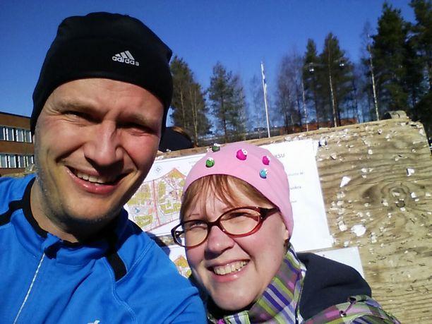 Toukokuussa 2016 Mikko ja Tiina suunnistivat yhdessä viimeisiä kertoja.