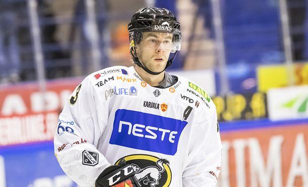 Ilves-ottelun loppu kismitti Mikael Ruohomaata.