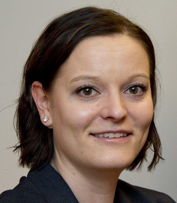 Reserviläisliiton varapuheenjohtaja Terhi Hakola.