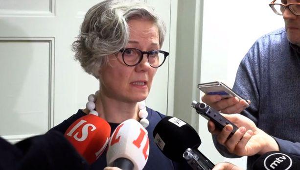 Valtakunnansovittelija Vuokka Piekkala oli yksi sunnuntai-illan pettyneistä hahmoista.