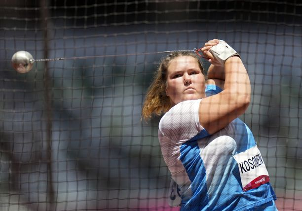 Silja Kosonen oli Tokion olympialaissa 14:s.