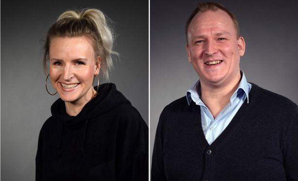 Heidi ja Oskari tapaavat toisensa Suomenlinnassa Ensitreffit alttarilla -ohjelman hääjaksossa.
