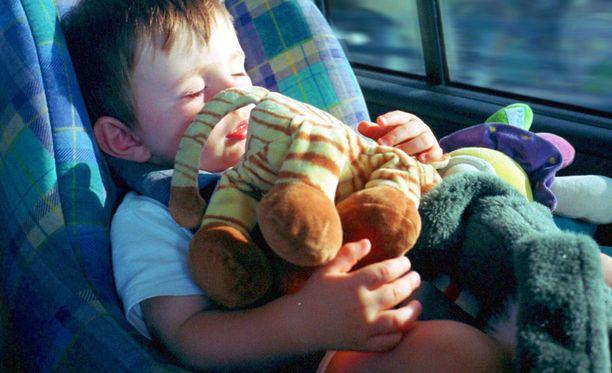 Matkapahoinvointi on yleisempää lapsilla kuin aikuisilla.