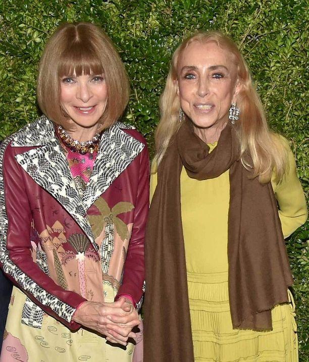 Yhdysvaltain Voguen päätoimittaja Anna Wintour on muistanut lämpimästi ystäväänsä Franca Sozzania.
