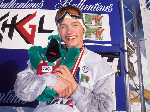 Aleksi Litovaara kuului 90-luvulla lumilautailun maailman huippuihin.
