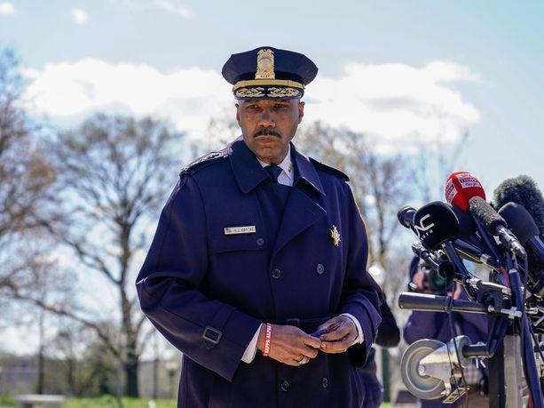 Washington DC:n poliisilaitos joutui venäjänkielisten kyberrikollisten uhriksi huhtikuun lopulla. Kuvassa poliisipäällikkö Robert Contee.