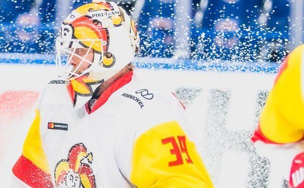 Anders Lindbäck oli Jokerien avainpelaajia Pietarissa.