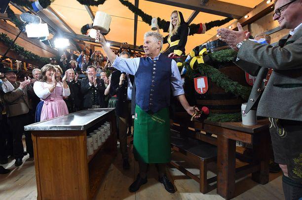 Münchenissä vietetään parhaillaan perinteistä Oktoberfestiä. Juhlinta alkoi 17. syyskuuta ja jatkuu lokakuun alkupuolelle.