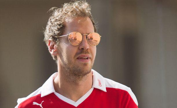 Sebastian Vettel ei ole menestynyt Ferrarilla.