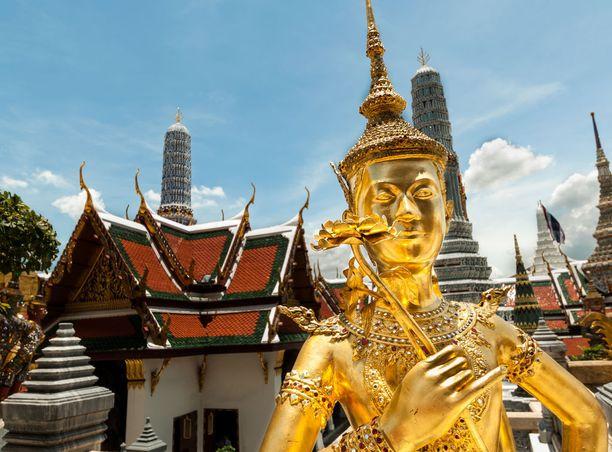 Bangkok on värikäs suurkaupunki.