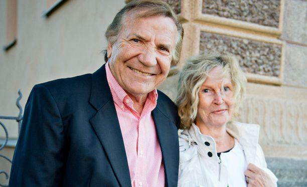 Eino ja Marjatta Grön ovat olleet tuttu pari monista tilaisuuksista vuosien ajan.