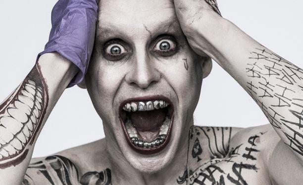 Jared Leto näytteli Jokeria vuonna 2016.