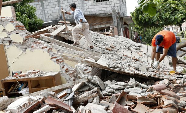 Meksikon maanjäristys on ollut tuhoisaa muun muassa Oaxacan osavaltiossa.
