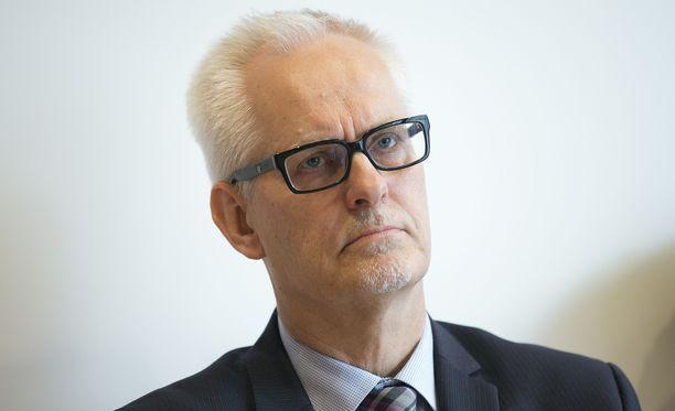 Kokoomusmeppi Petri Sarvamaa kuvaili Iltalehdelle tunnelmia Strasbourgista myöhään tiistai-iltana. Arkistokuva Sarvamaasta.