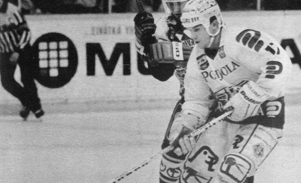 Mal Davis siirtyi TPS:aan vuonna 1986.