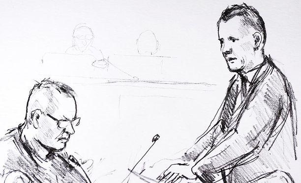 Oikeudessa kuullaan keskiviikkona Peter Madsenia. Oikeussaliin ei päästetä valokuvaajia.