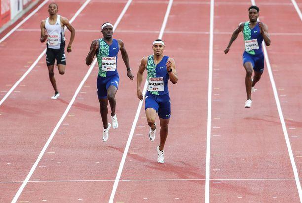 Michael Norman on maailman kahdenneksitoista nopein mies 200 metrin pikajuoksussa.