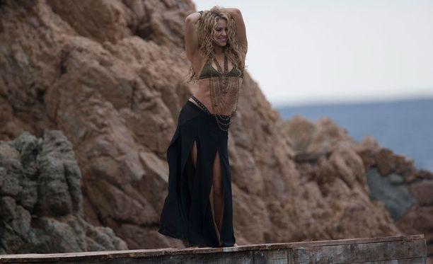 Shakira on ahkera treenaaja.