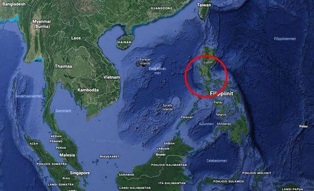 Lento-onnettomuus tapahtui Filippiineillä.