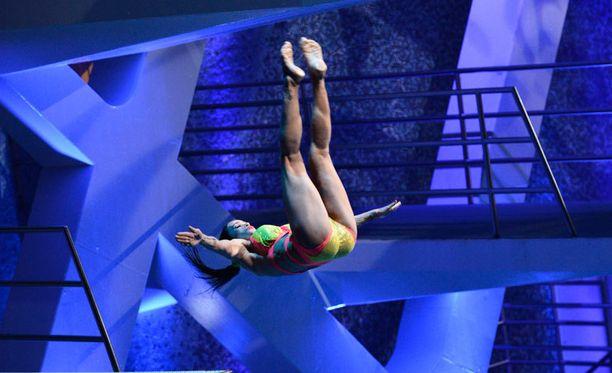 Martina Aitolehti jyräsi Splashin voittoon.