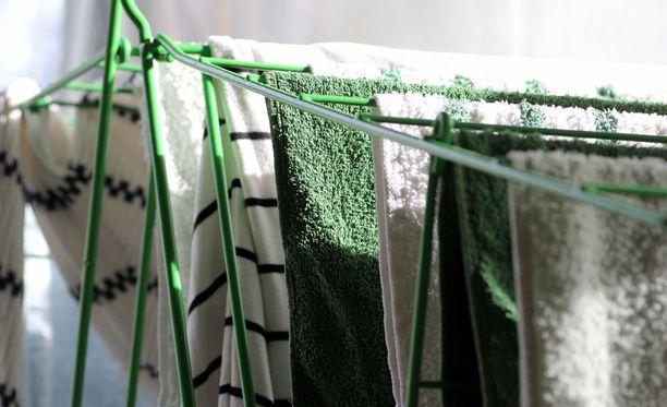 Pyyhkeet kannattaa vaihtaa vähintään kerran viikossa.